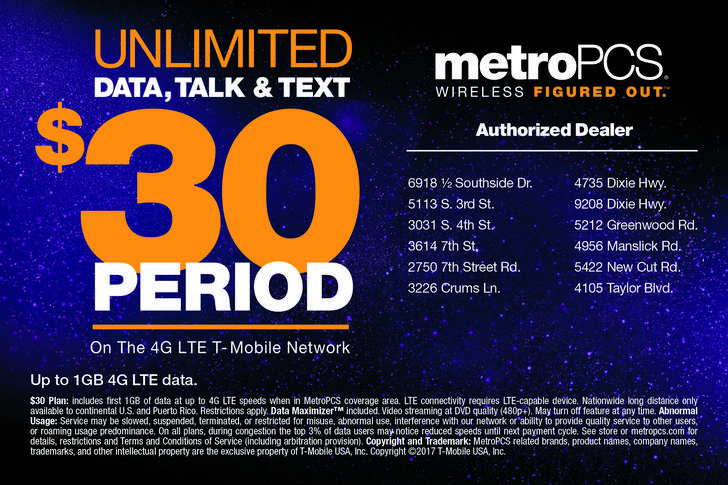 Mobile MetroPCS crafts unlimited phone plan for $30 a month. The T-Mobile-owned prepaid brand is touting its new plan over those offered by Boost and Cricket, though there are a couple of catches.